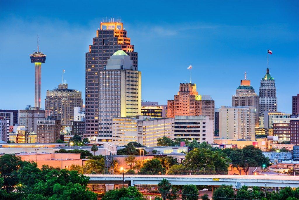 city line in texas