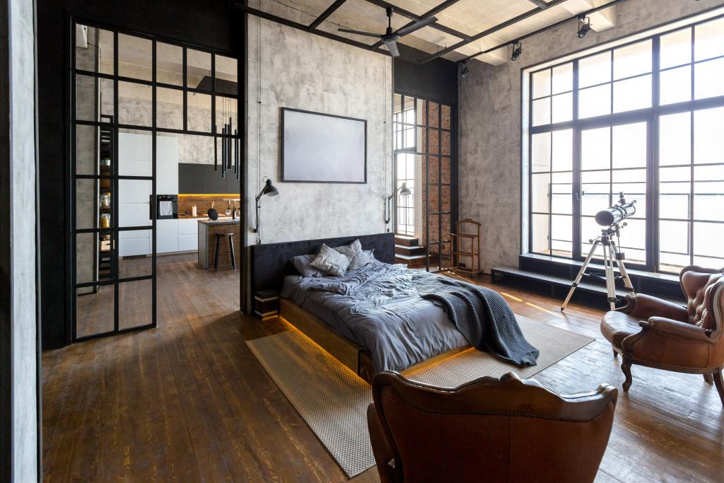 interior design of a bedroom